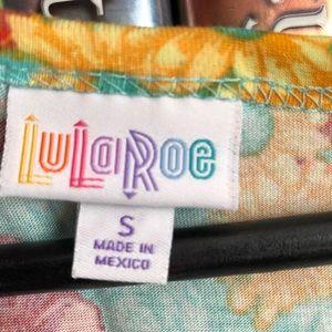 LuLaRoe Dresses - LuLaRoe Floral Print Fit & Flare Nicole Dress S